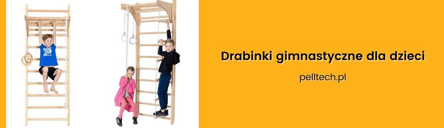Drabinka gimnastyczna do ćwiczeń dla dzieci